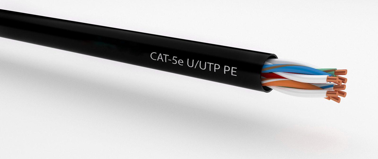 CAT 5e U/UTP PE